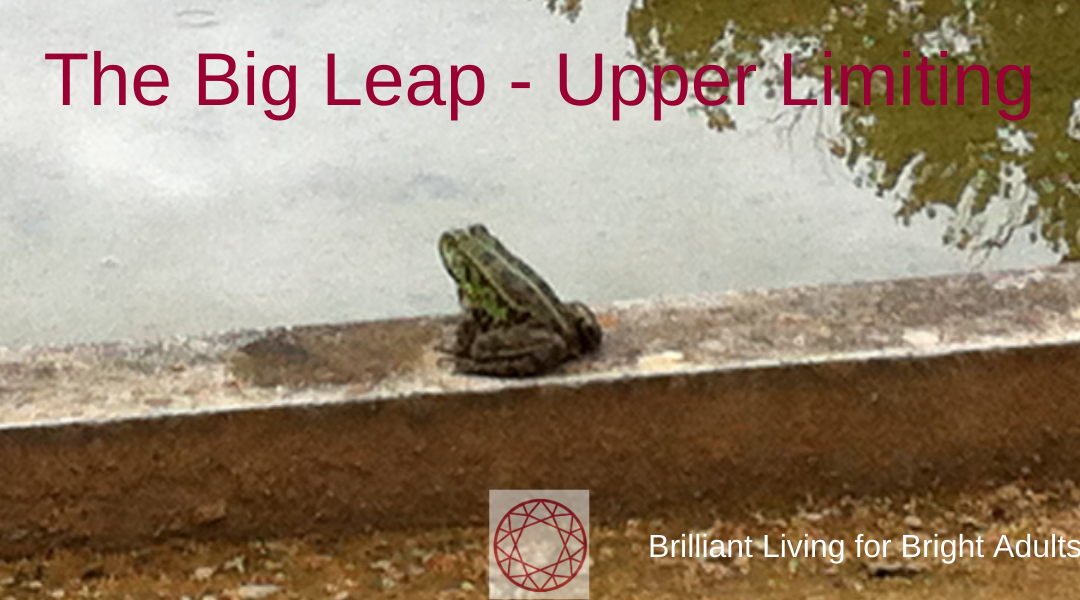 The Big Leap – Stop Upper Limiting