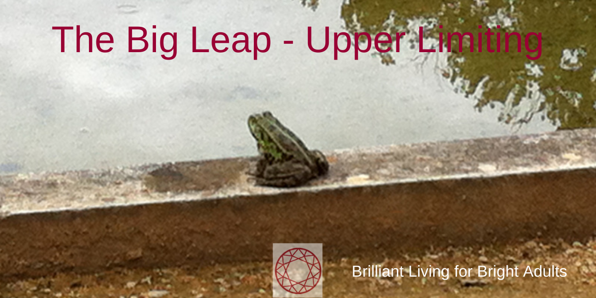 the big leap - upper limiting
