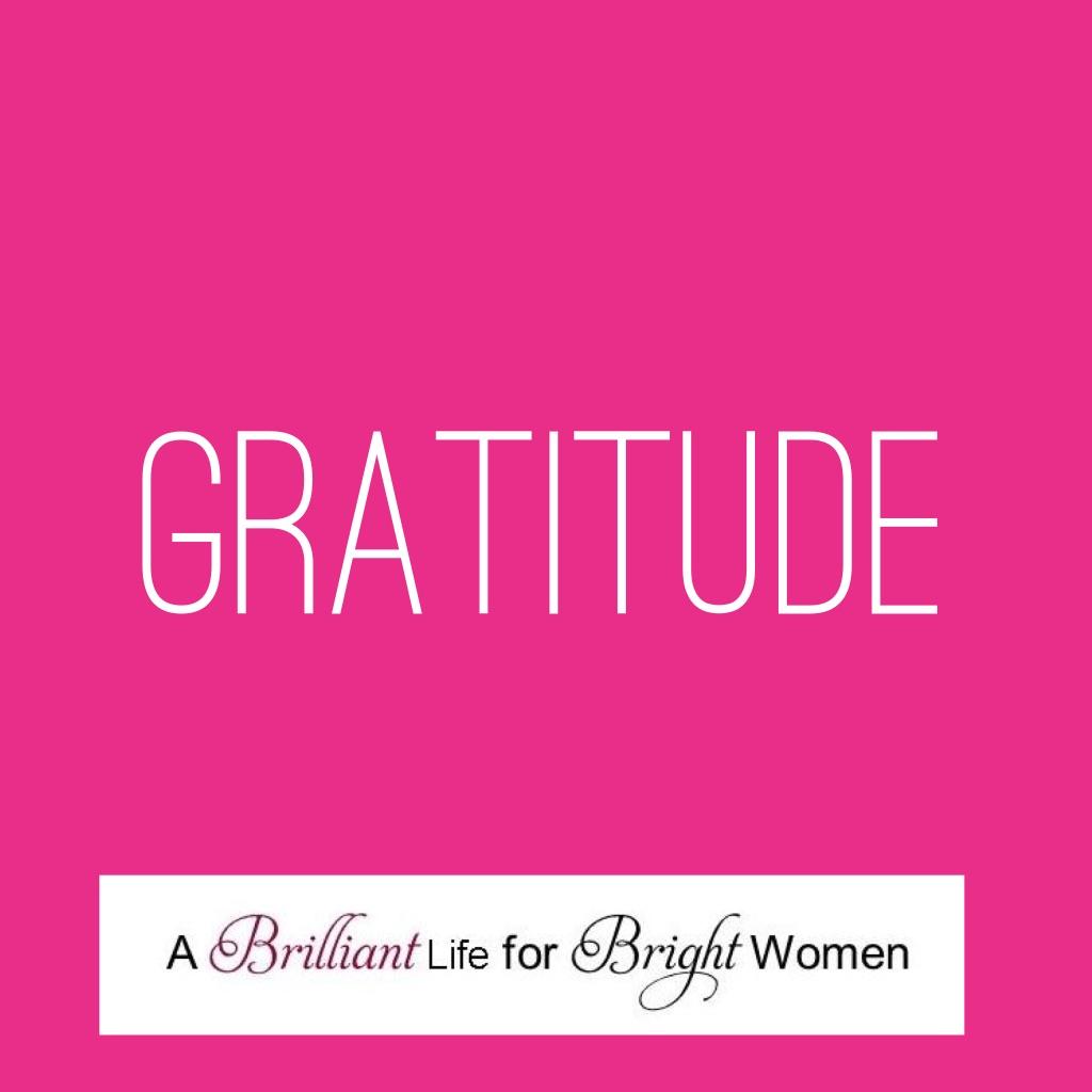 practising gratitude