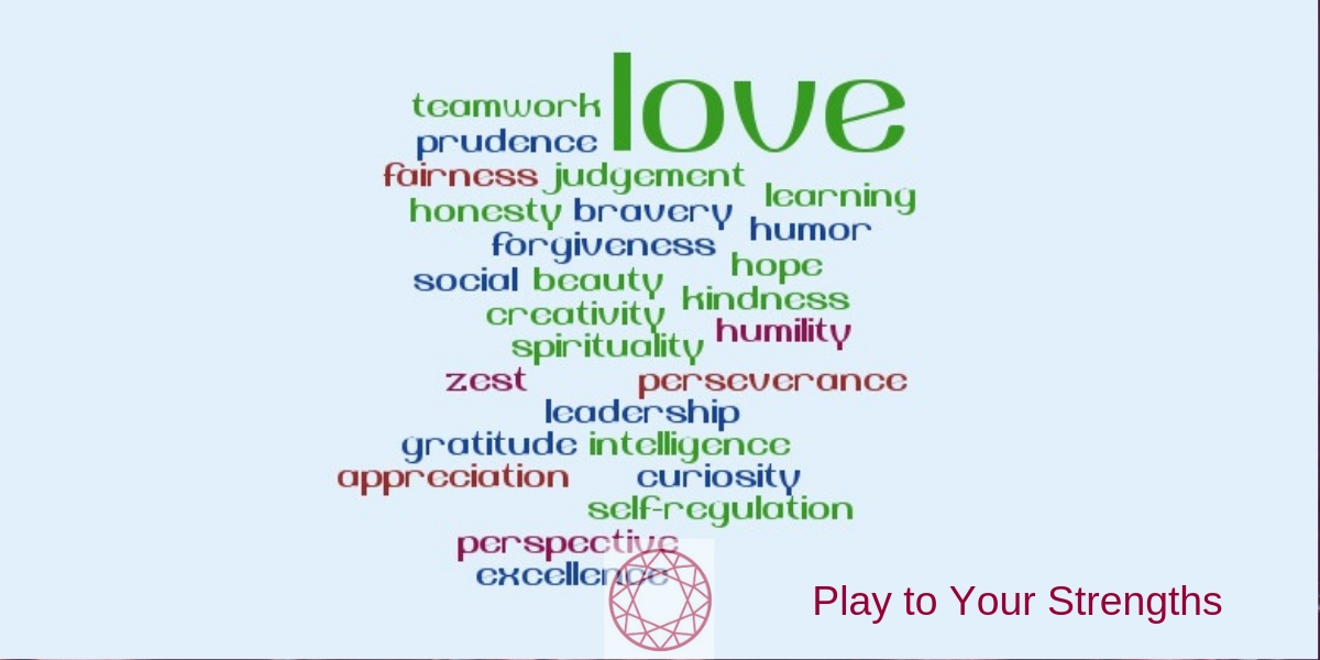 24 Character Strengths - character strength love