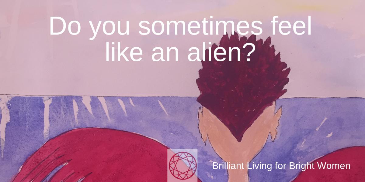 Feel like an alien - Patricia Mauerhofer