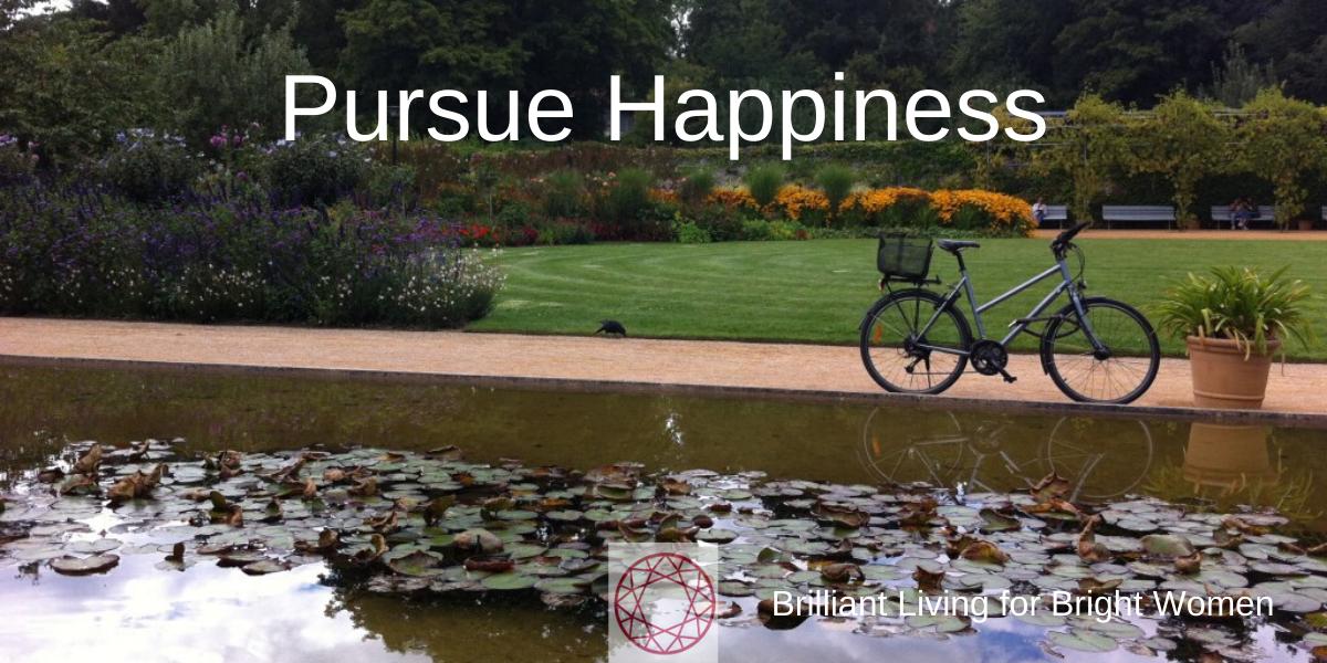pursue happiness