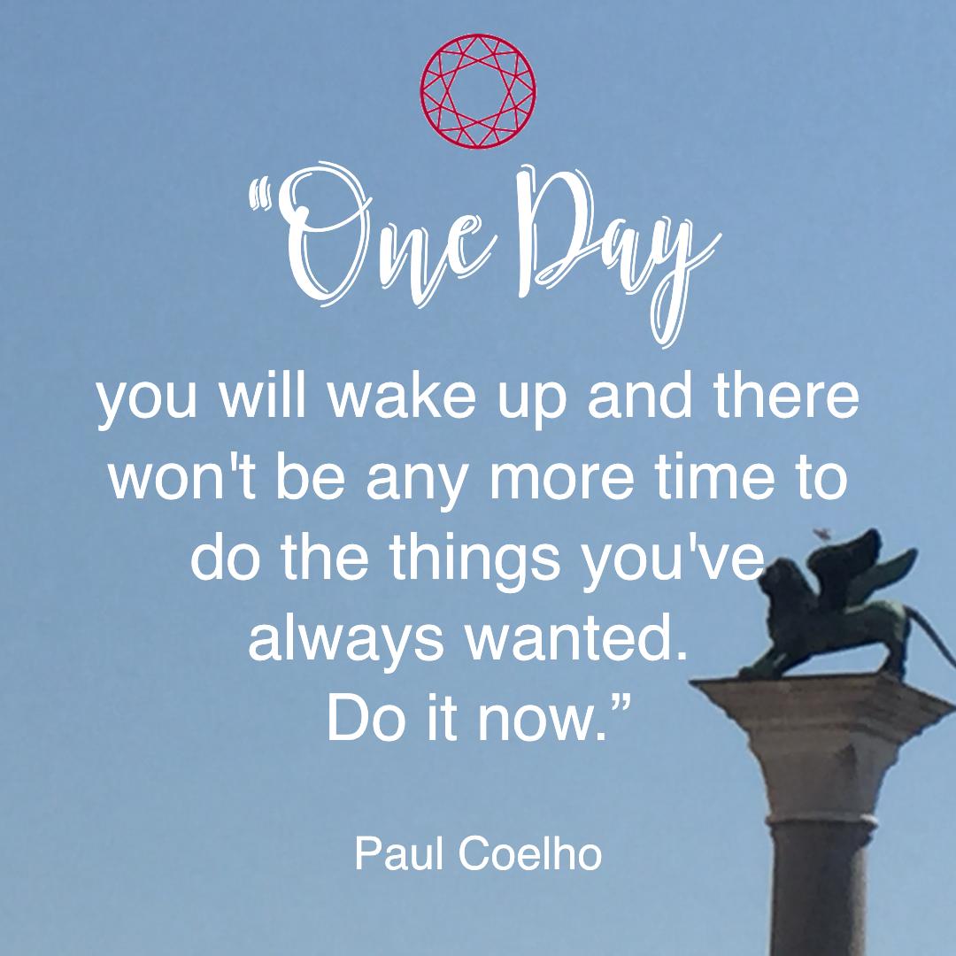 pursue happiness quote coelho